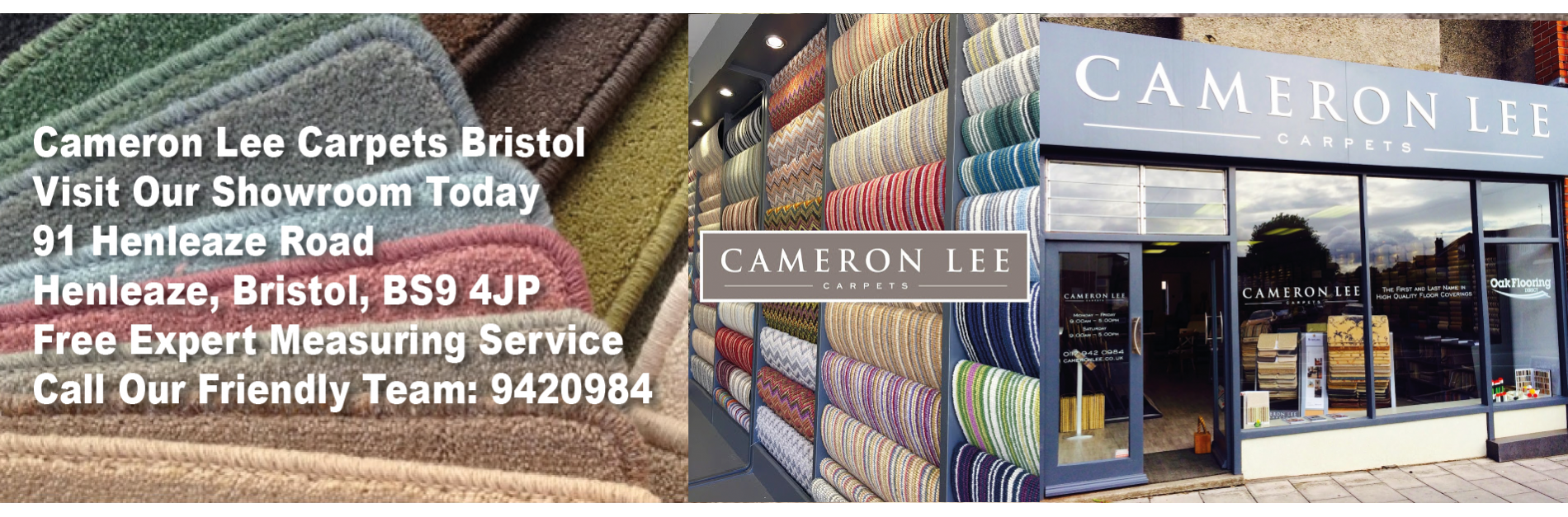 Carpet & Flooring Shop Bristol, Henleaze, Clifton, Redland