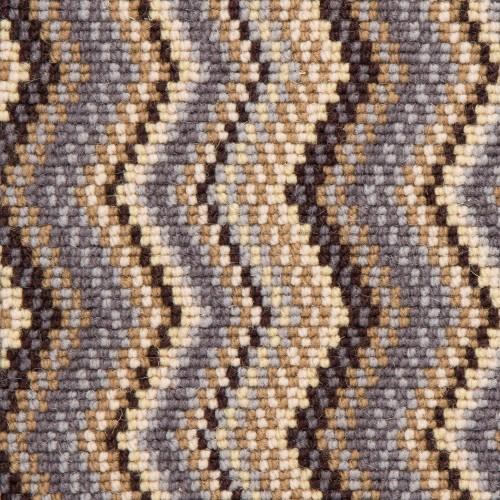 Hugh Mackay Deco Zig Zag Wool Carpet Cameron Lee