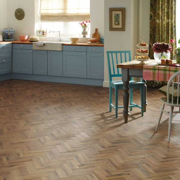 Karndean Art Select Herringbone Luxury Vinyl Tiles